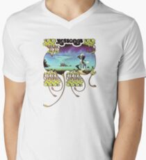 Yes - Yessongs Men's V-Neck T-Shirt