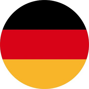 Germany Flag T Shirt for adults and children by artbaggage