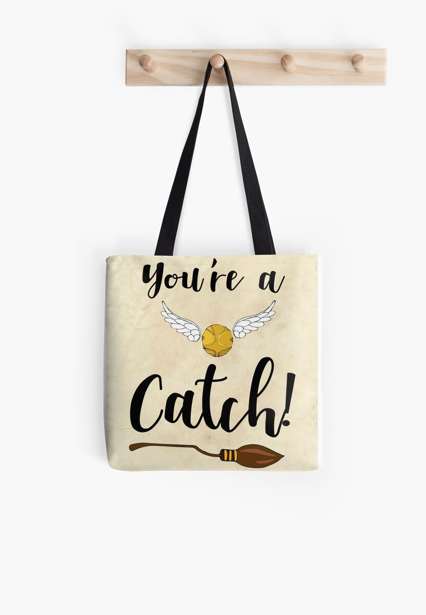 Youre a catch greetings card tote bags by nicolacollings redbubble greetings card by nicolacollings m4hsunfo