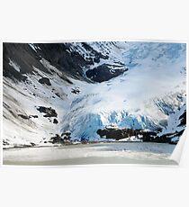 Bear Glacier - Stewart, BC Poster