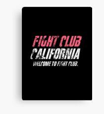 Fight California Canvas Print