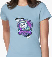 Paw Everest Women's Fitted T-Shirt