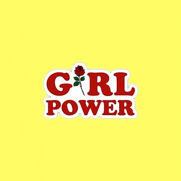 Yellow Girl Power Phone Case by aeshaax