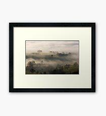 Fog in the Vale of York Framed Print