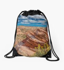 Escalante Valley Outlook Drawstring Bag