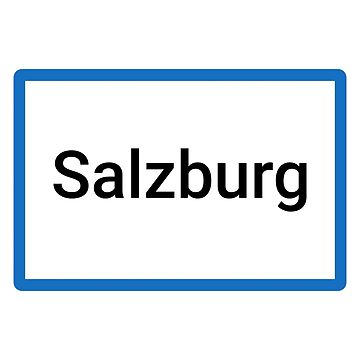 Salzburg Place Name Sign by lukassfr