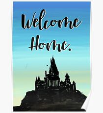 Welcome Home, New home greeting Poster