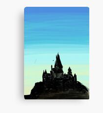 Castle Print Canvas Print