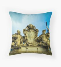 Two Angels in Rome Throw Pillow