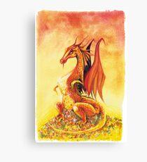 Smaug the Dragon Canvas Print