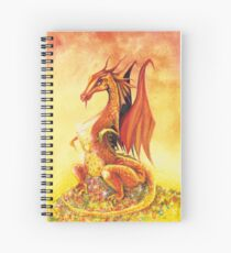 Smaug the Dragon Spiral Notebook