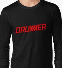 DRUMMER Logo Long Sleeve T-Shirt