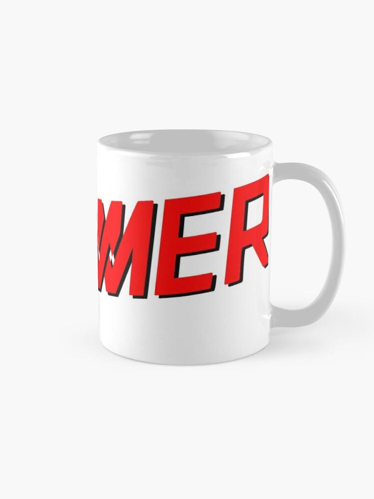 Alternate view of DRUMMER Logo Mug