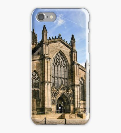St Giles' Cathedral and Parliament Square iPhone Case/Skin