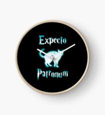 Expecto Patronum Cat. Clock