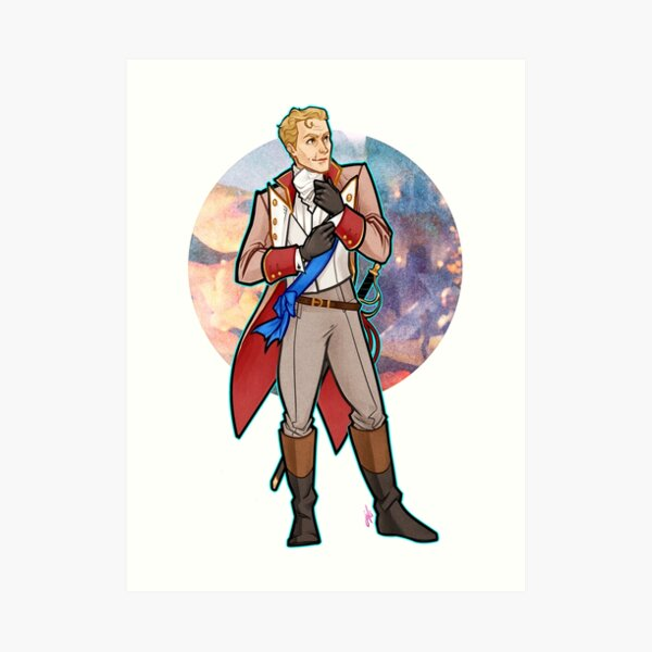 Regency Era Cullen Rutherford Art Print