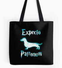 Expecto patronum dog. Tote Bag