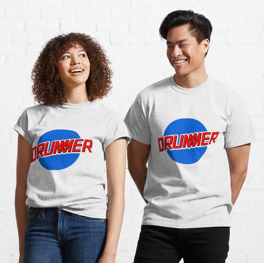 DRUMMER Meatball Logo Classic T-Shirt