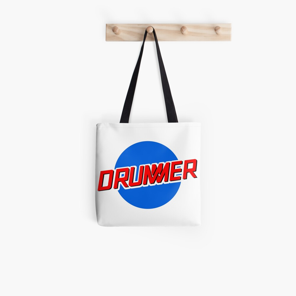 DRUMMER Meatball Logo Tote Bag