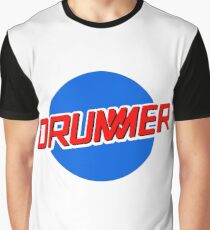 DRUMMER Meatball Logo Graphic T-Shirt