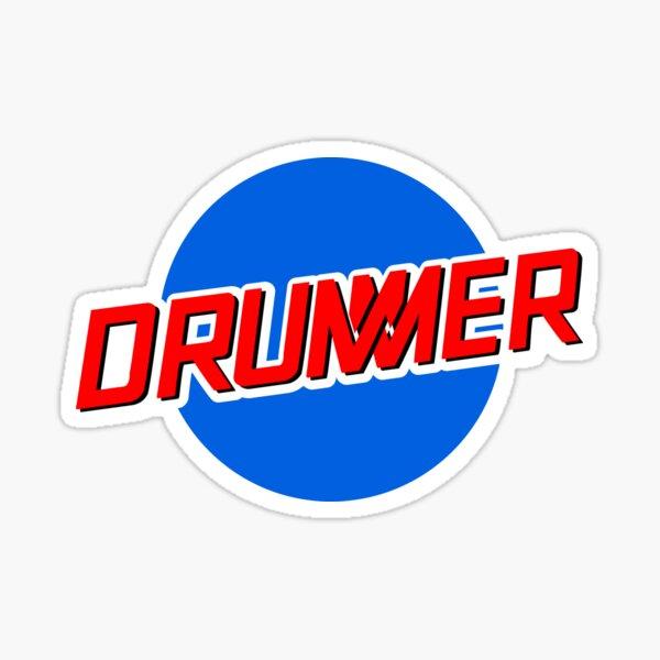DRUMMER Meatball Logo Sticker