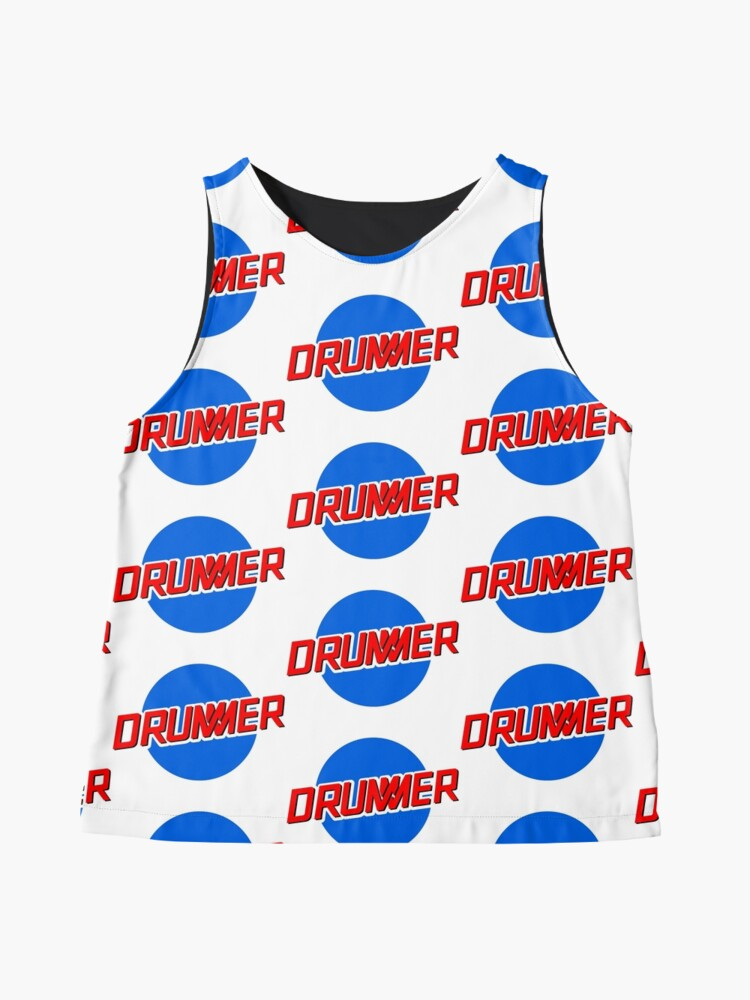 Alternate view of DRUMMER Meatball Logo Sleeveless Top