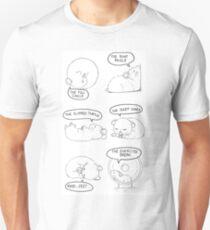 Hamster Sleeping Guide Unisex T-Shirt