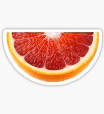 Slice of blood orange Sticker