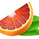 Piece of sicilian orange by 6hands