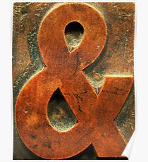 AMPERSAND & (type) #2 Poster