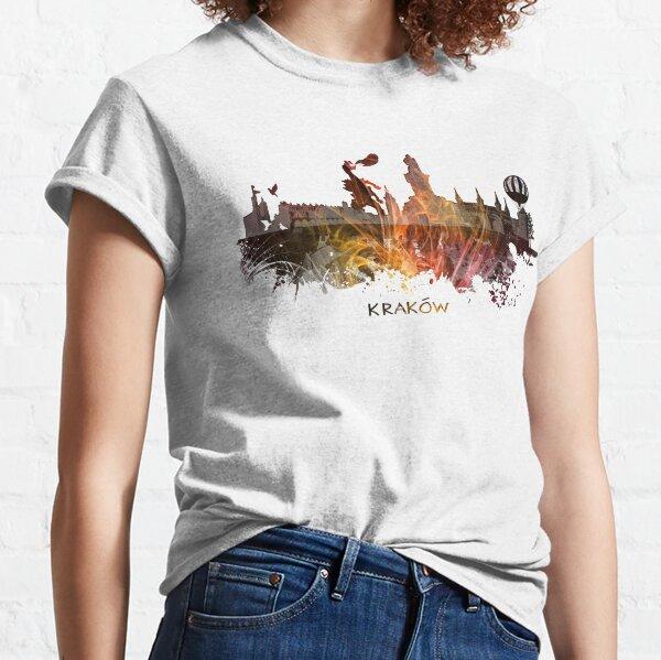 Kraków skyline city #krakow #cracow Classic T-Shirt