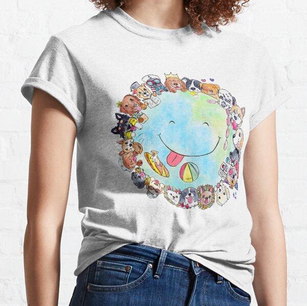 Happy Dog Planet - Choose your Furrsonality Classic T-Shirt