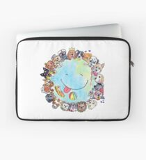 Happy Dog Planet - Choose your Furrsonality Laptop Sleeve