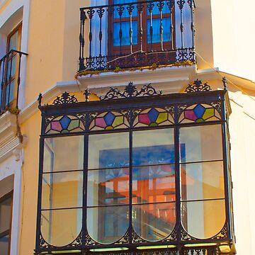 Cáceres balcony by terezadelpilar