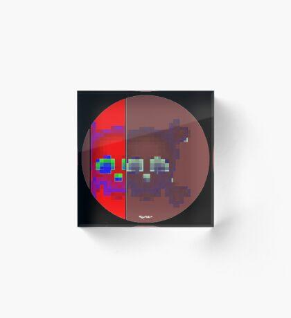 Emojii skullii-pix • 3 Acrylic Block