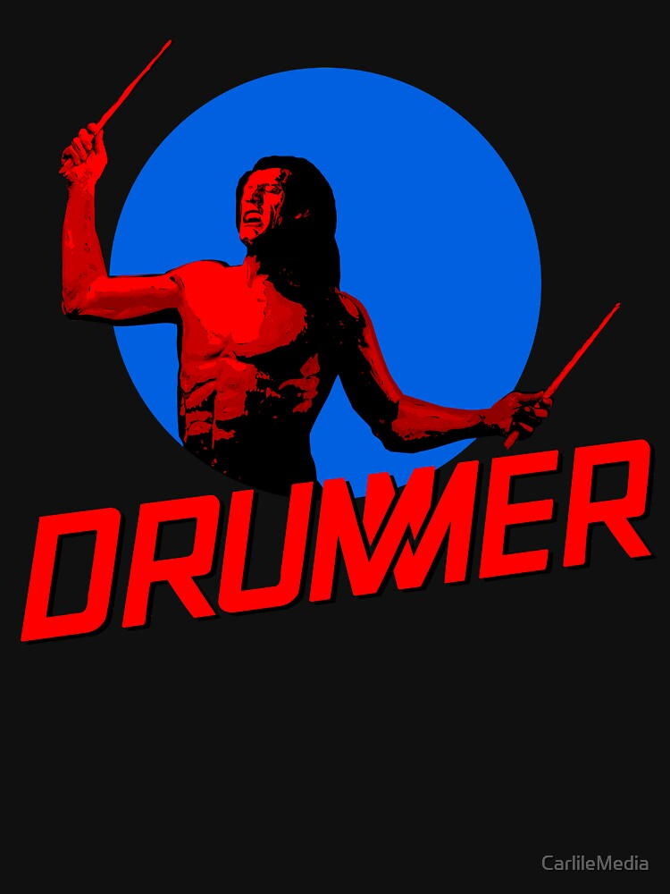 DRUMMER Logo and Figure by CarlileMedia