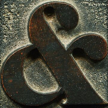 AMPERSAND & (type) #3 by jovandjordjevic