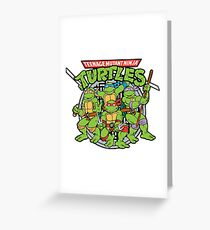 TMNT Forever Greeting Card