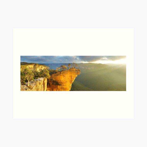 Hanging Rock, Blue Mountains, Australia Art Print