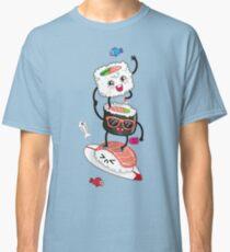 Camiseta clásica Surfin 'sushi