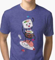 Surfin' sushi Tri-blend T-Shirt