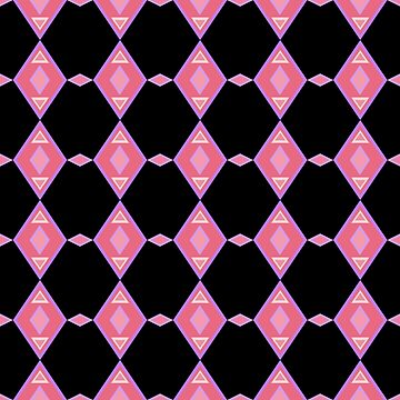 Pink Diamonds Purple Diamonds by Delight4Delife