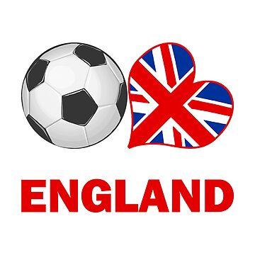 England Soccer Fan by CafePretzel