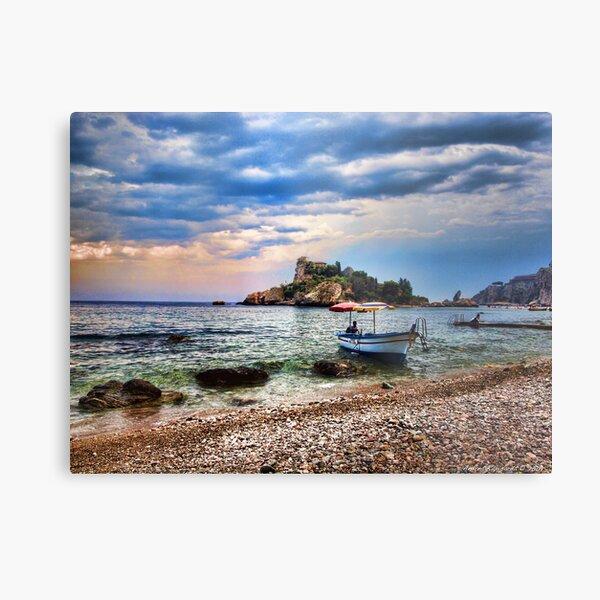 Isola Bella, Taormina, Sicily Metal Print