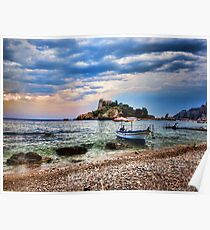 Isola Bella, Taormina, Sicily Poster