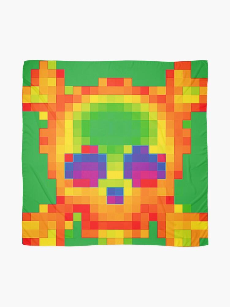 Alternate view of Emojii skullii-pix • 9 Scarf