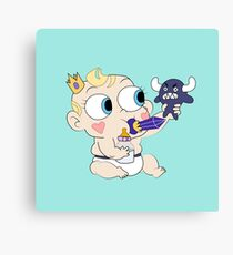 Baby star vs the forces of evil Canvas Print