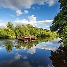 Summer time on the River Wye by Heidi Stewart