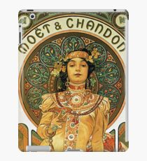 HD. Moët & Chandon, Alphonse Mucha (1898) High Definition iPad Case/Skin