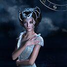 « Cercle de fantaisie du zodiaque du cancer » par Britta Glodde